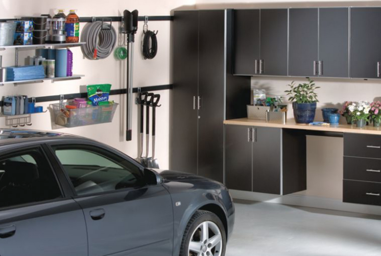 Garage Repair and Organization