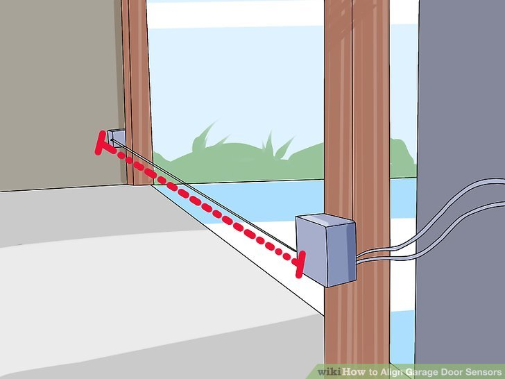 Fix Garage door Sensors