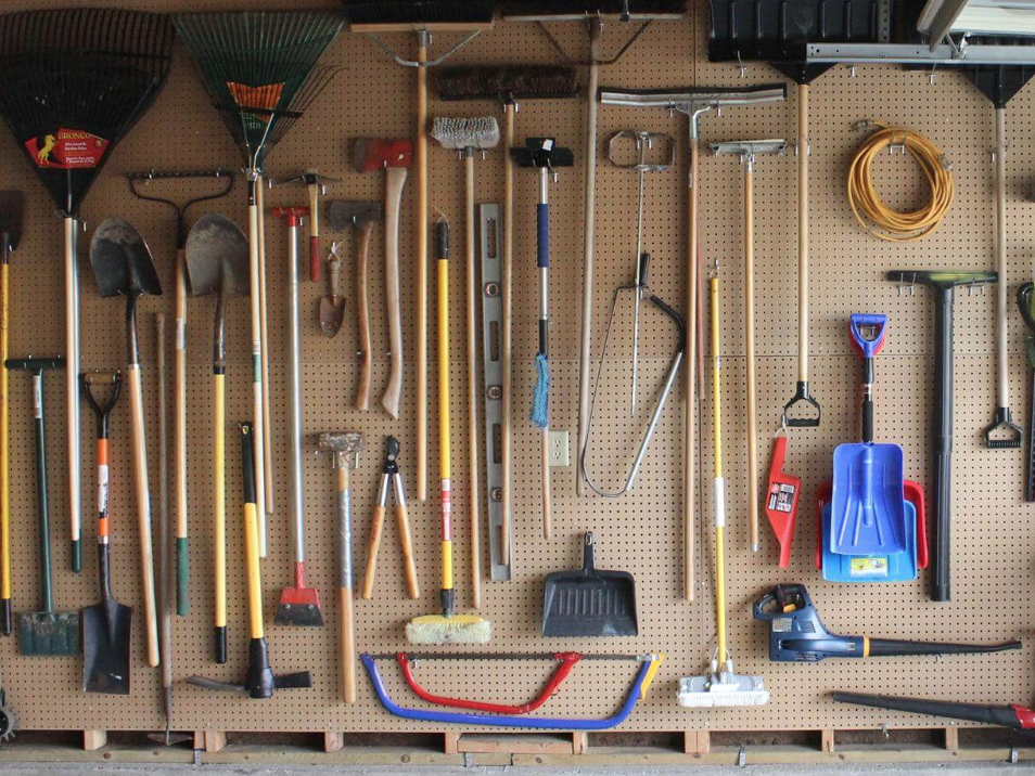 Garage Door Repairs and Pegboards to organize ing your Alpharetta and Roswell Georgia home