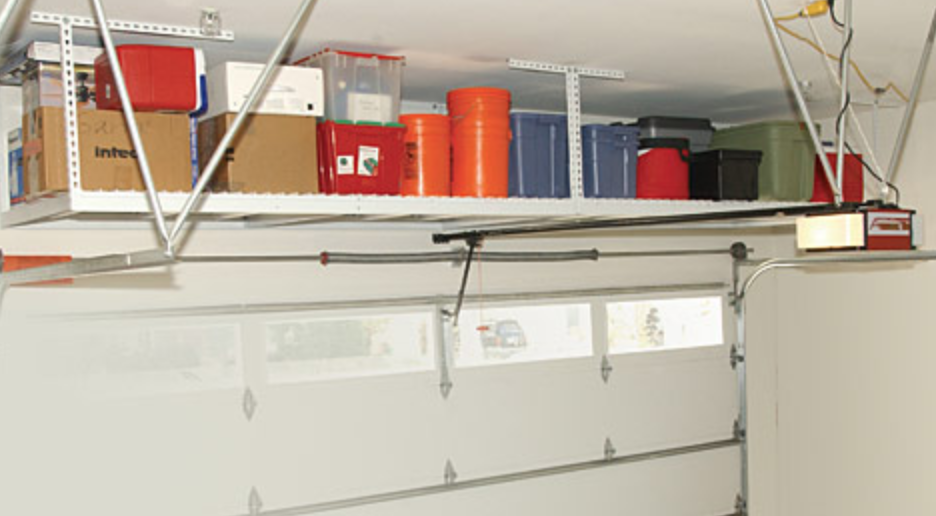 Overhead garage door repair and storage in Roswell Ga